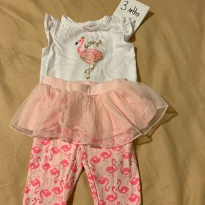 Cute Flamingo Outfit